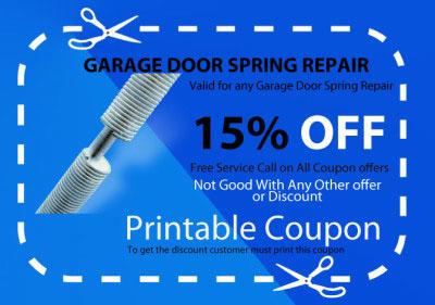 Our Coupons - Garage Door Repair Corona Ca